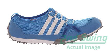 New Womens Golf Shoe Adidas Climacool Ballerina 9 Blue MSRP $60