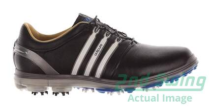 New Mens Golf Shoe Adidas Pure 360 Medium 11 Black MSRP $250