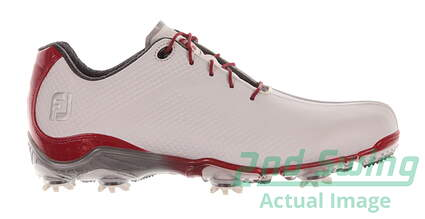 New Mens Golf Shoe Footjoy DNA Medium 11 White/Red MSRP $190 53424