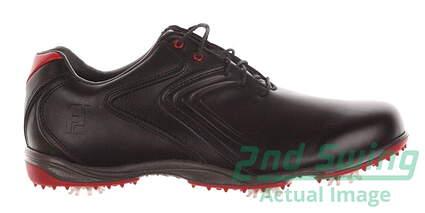 New Mens Golf Shoe Footjoy HydroLite Medium 9.5 Black MSRP $120 50048