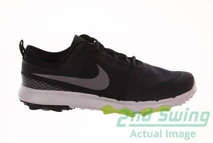 New Mens Golf Shoe Nike FI Impact 2 Wide 10.5 Black MSRP $140