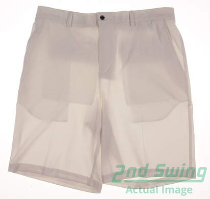 New Mens Dunning 4-Way Stretch Woven Shorts Size 34 White MSRP $79 D7S12H011