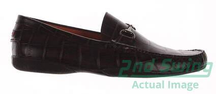 New Mens Golf Shoes Peter Millar Loafer Medium 11.5 Brown MSRP $300 MC0F40
