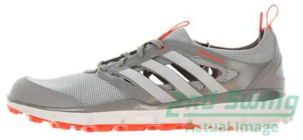 New Womens Golf Shoe Adidas Climacool II Medium 8.5 Gray / White / Red MSRP $90 Q46729