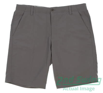 new-mens-under-armour-golf-shorts-size-36-gray-msrp-65