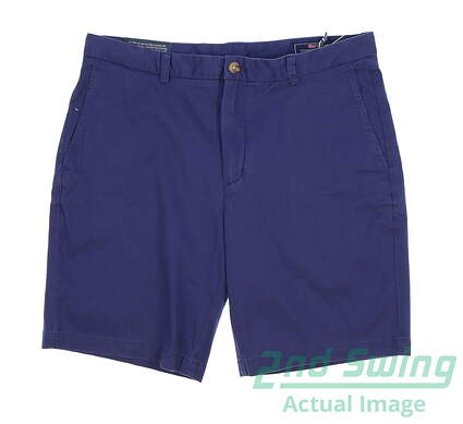 new-mens-vineyard-vines-golf-shorts-size-36-blue-msrp-75-1h0462