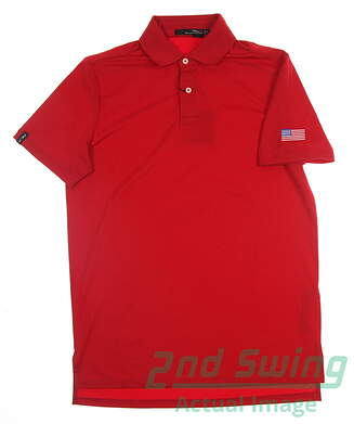 new-w-logo-mens-ralph-lauren-rlx-golf-polo-small-s-red-msrp-90