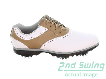new-womens-golf-shoe-footjoy-emerge-medium-9-whitebrown-msrp-90-93914