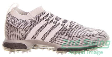 new-mens-golf-shoe-adidas-tour360-knit-medium-9-silverwhite-msrp-190