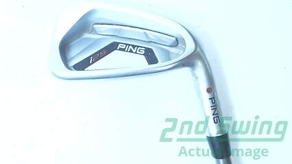 Ping I25 Single Iron 7 Iron Aerotech SteelFiber i95 Graphite Stiff Right Handed Red dot 37.25 in