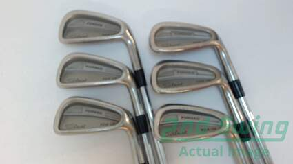 Titleist 704.CB Iron Set 5-PW True Temper Dynamic Gold S300 Steel Stiff Right Handed 38 in