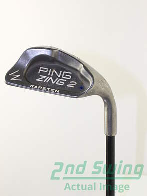 Ping Zing 2 Wedge Pitching PW Stock Graphite Shaft Graphite Stiff Right Handed Blue Dot 37.5 in