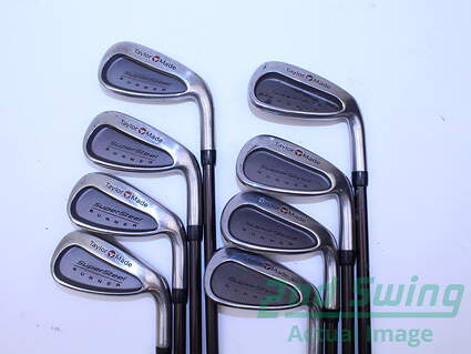 TaylorMade Supersteel Iron Set 3-PW TM Bubble Graphite Stiff Right Handed 38 in