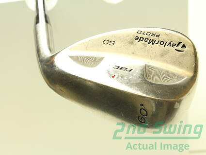 Tour Issue TaylorMade Rac Satin Tour Proto Wedge Lob LW 60* True Temper Dynamic Gold S300 Steel Stiff Right Handed 36 in