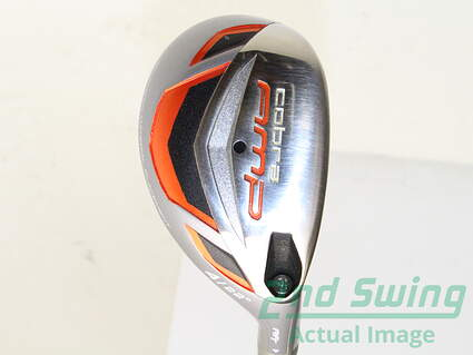 Cobra AMP Hybrid 4 Hybrid 22* Cobra Aldila RIP Graphite Stiff Right Handed 39.75 in