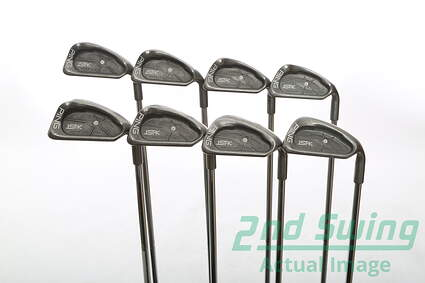 Ping ISI K Iron Set 4-PW SW Stock Steel Shaft Steel Stiff Right Handed 38.5 in