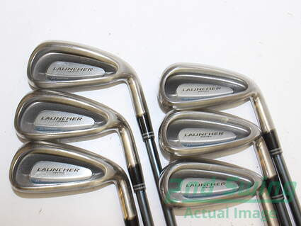 Cleveland Launcher Womens Series Iron Set 5-PW Stock Graphite Shaft Graphite Ladies 36 in