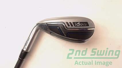 Adams 2014 Idea Single Iron 7 Iron Adams Mitsubishi Rayon Bassara Graphite Lite Left Handed 37.5 in