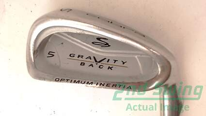 Cobra Gravity Back Single Iron 5 Iron Stock Steel Shaft Steel Regular Right Handed 38 in
