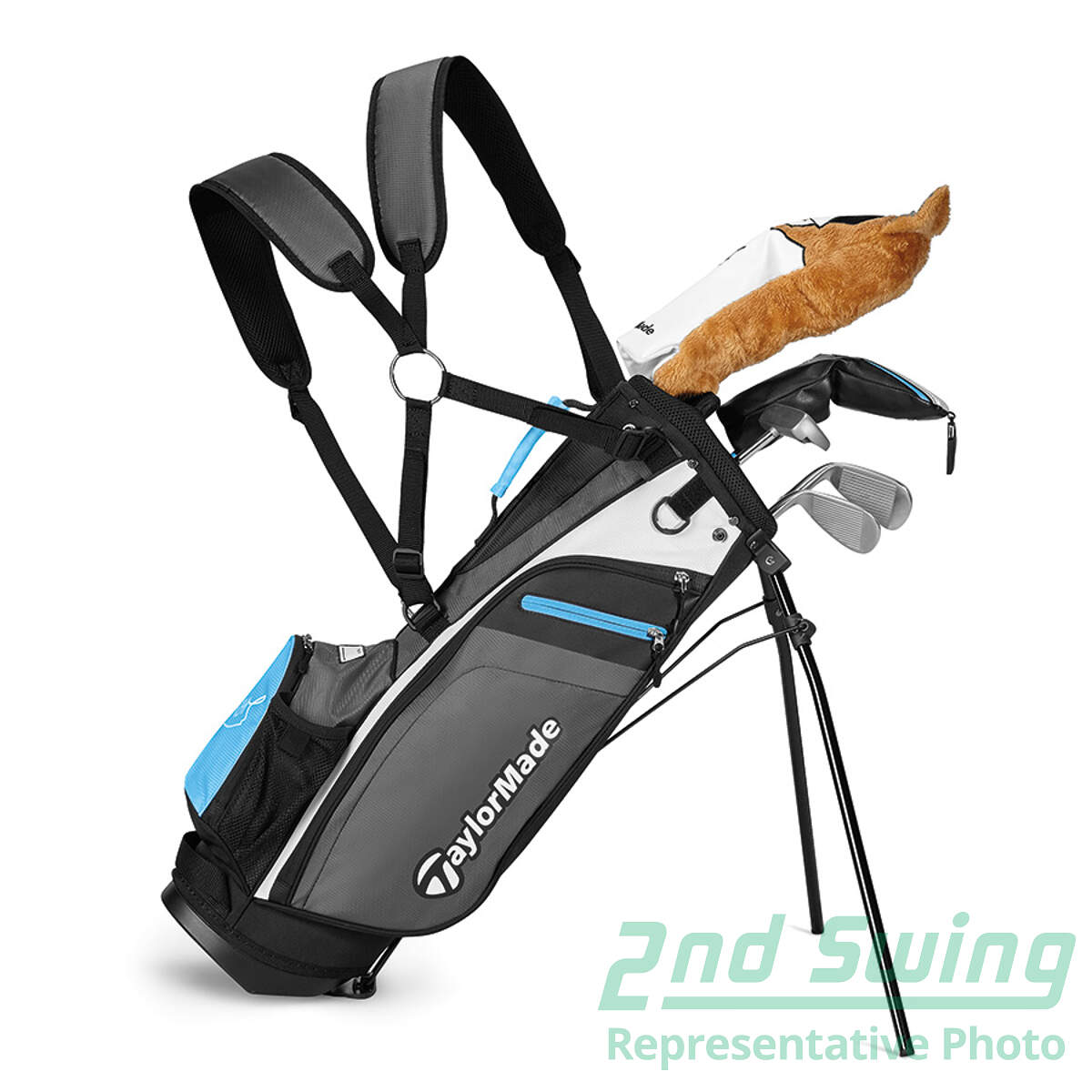 Taylormade Rory Kids 6 Piece Complete Golf Club Set Junior Left Handed New Golf Club 2nd Swing Golf