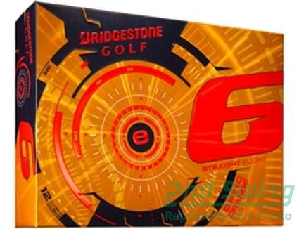 Bridgestone 2015 E6 Orange Dozen Golf Balls