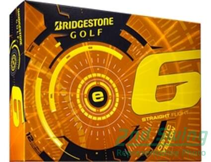 Bridgestone 2015 E6 Yellow Dozen Golf Balls