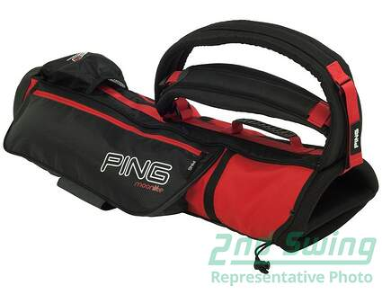 Ping Moonlite Red Sunday Bag