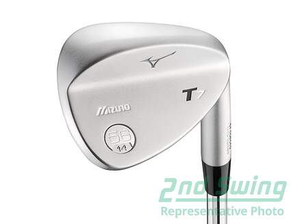 Mizuno T7 White Satin Wedge