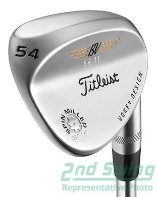 Titleist Vokey Spin Milled SM4 Chrome Wedge
