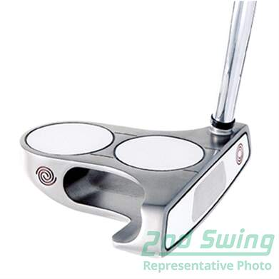 Odyssey White Steel 2-Ball Blade Putter